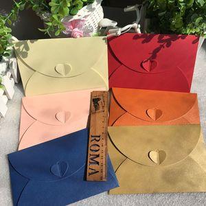 Image 2 - Lot de 50 enveloppes pour invitations de mariage, 17.5x11cm(1 pouce = 2.54cm), en papier