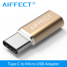 AIFFECT Type C Adapter  Micro USB Adapter To Type C USB C Adapter Converter for Xiaomi 4C LG G5 Letv HTC Macbook Type C Adapter fffas type c cable micro usb to type c adapter fast charger converter for xiaomi mi5 mi6 huawei p9 p10 letv htc samsung letv 2