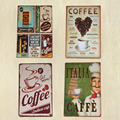 CAFE MENU KNOW YOUR COFFEE TIN SIGN Old Wall Metal Painting ART Decor Mix order  New 20*30 CM