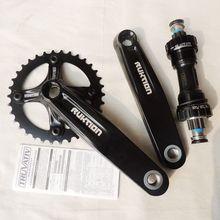 RUKTION downhill 8 speed 9 speed XR bearing shaft mountain bike bicycle Crank Crankset spline sprocket wheel 34T