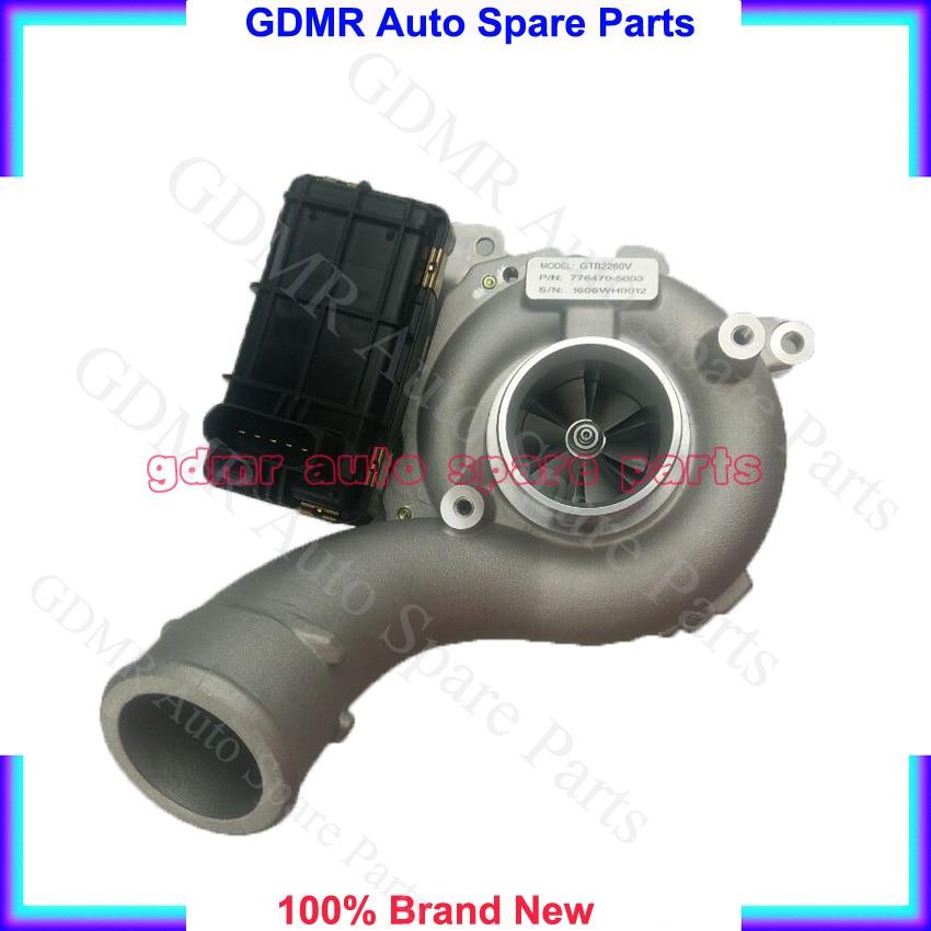 GTB2260V Supercharger 776470 5003S 776470 5001S 776470 3