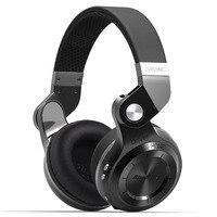 Bluedio T2S Wireless Foldable Bluetooth Earphones Black