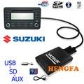 Yatour Цифровой Музыки Чейнджер USB AUX MP3 адаптер для Suzuki Swift Jimny GRAND VITARA SX4 с CE-NET порт yt-m06 Аудио радио