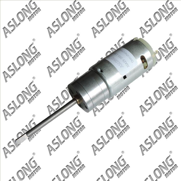 ASLONG JGA25-395 DC gear motors 12V480 motor revolution image