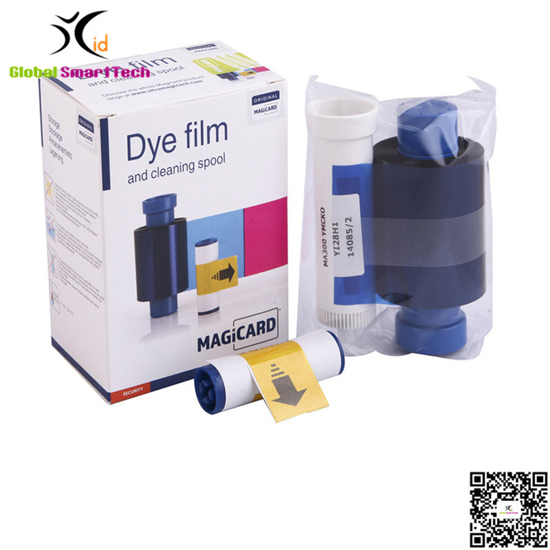 Magicard enduro Rio Pro and Pronto MA300YMCKO color ribbon dye film