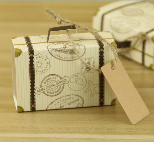 NEUE Kreative Mini Koffer Pralinenschachtel Süßigkeiten Verpackung ...