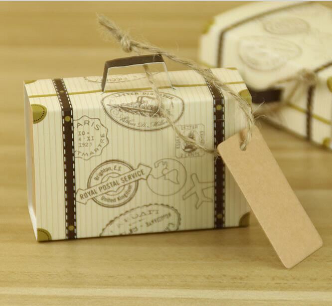 NEW Creative Mini Suitcase Candy Box Candy Packaging