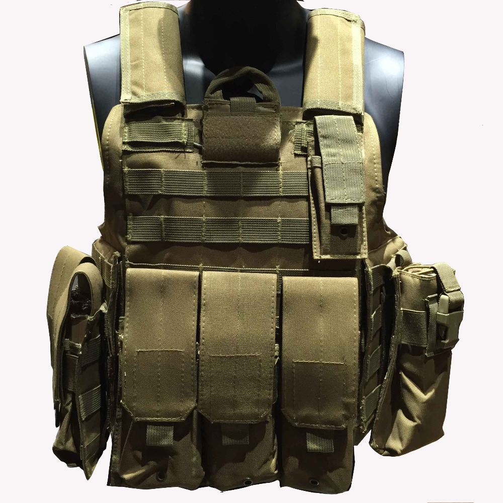 Militaria Training Combat Uniform Ciras mar Vest Outdoor Tactical Vest Camouflage Army