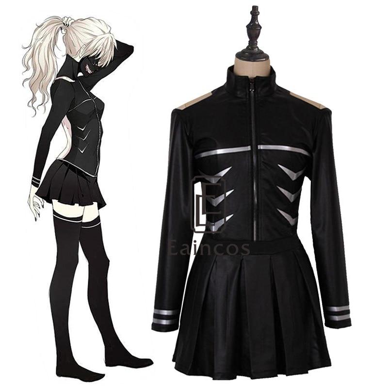 Anime Tokyo Ghouls Kaneki Ken Dame Uniform Cosplay Halloween Party Kostüm Weibliche Kleid Nach Maß Vollen Satz