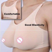 big D cup 1000g breast form mastectomy realistic silicone boob prosthesis with bra good elasticity comfortable