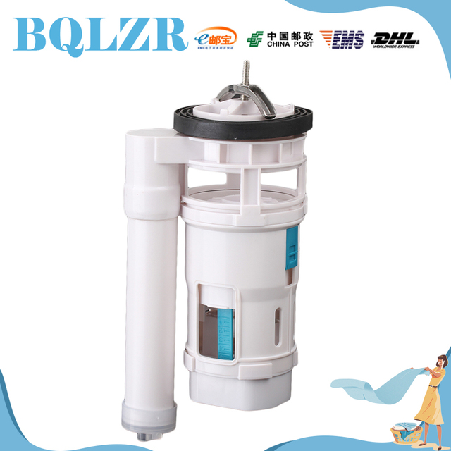BQLZR Toilet Connected Water Tank Dual Flush Fill Drain Valve 18cm Height Adjustable M