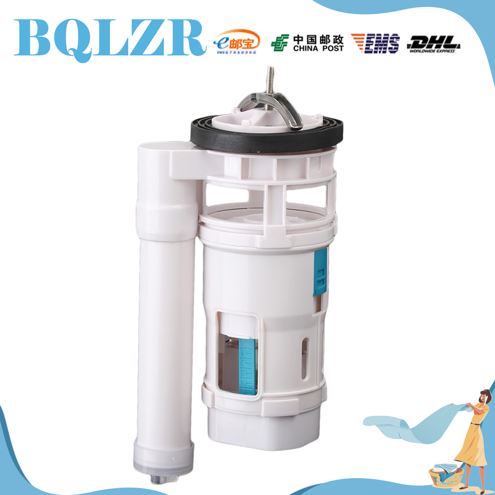 Bathroom cistern fittings - Bqlzr Toilet Bottom Inlet Fill Valve Connected Double Push Button Dual Flush 18cm China