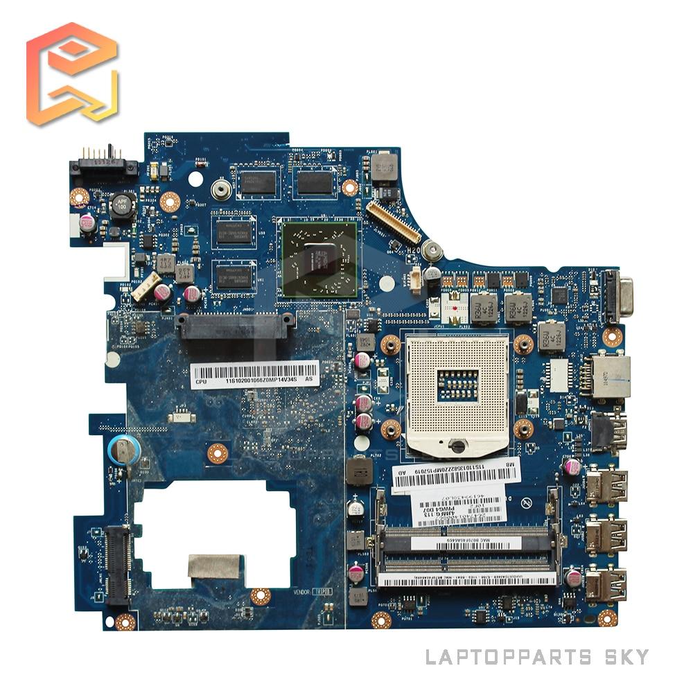 все цены на  Original For Lenovo G770 Y770 Laptop motherboard PIWG4 LA-6758P HM65 with 8 pieces video memory mainboard 100% working  онлайн
