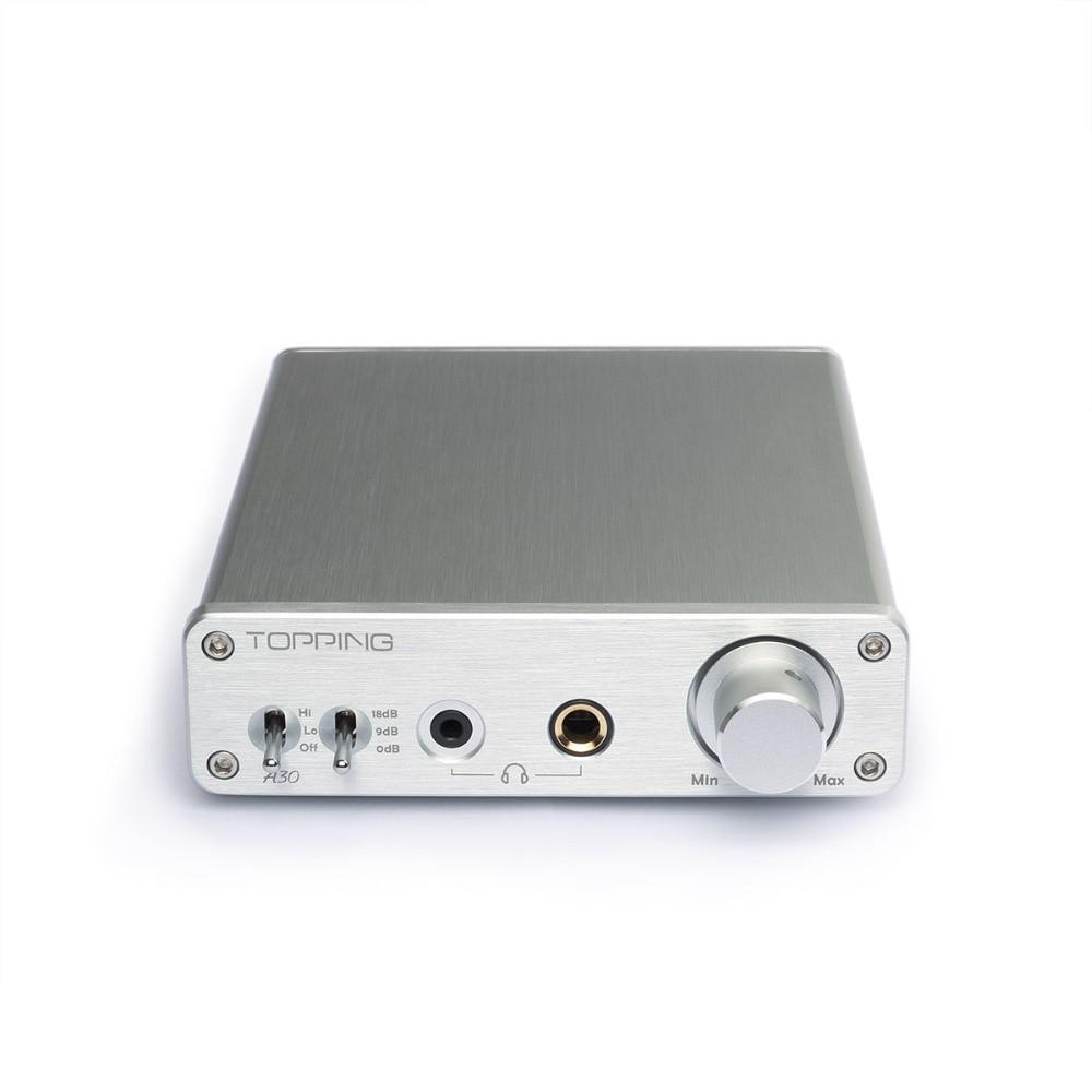 Topping A30 Desktop Hovedtelefonforstærker New Audio - Bærbar lyd og video - Foto 2