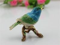 Wholesales New Style Throstle Bird Trinket Box Home Decorative Box Wedding Favor Ring Box