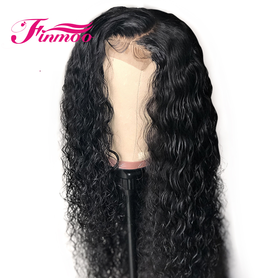 Human-Hair-Wigs Curly Lace-Front Baby Women with Hair-India for Black Bleach Knots Pre-Plucked