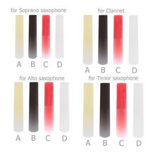 Saxophone Reed Parts-Accessories Plastic Resin Alto/tenor Woodwind-Instrument 4-Colors