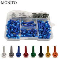 Motorcycle Fairing Bolts Nuts Kit Body Fastener Clips Screw For honda CBR 600 F2,F3,F4,F4i CBR600RR CBR600 CBR750 RR Accessories