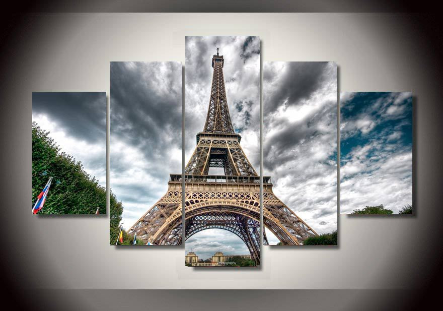 image regarding Printable Pictures of the Eiffel Tower named US $15.2 50% OFFHD Print Paris Eiffel Tower Portray revolutionary dwelling decor canvas wall artwork portray print wall artwork consider upon canvas artwork /PT0580-within just