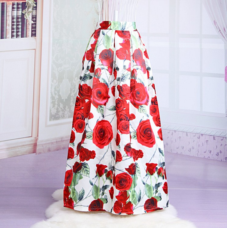 Compare Prices on Long Ball Maxi Skirt Print- Online Shopping/Buy ...