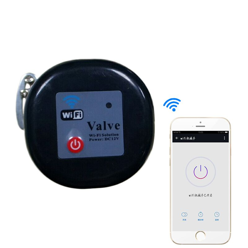 EU Water Valve Smart Water Valve Smart Home Automation System Valve for EU gas water control100-240 1.5A