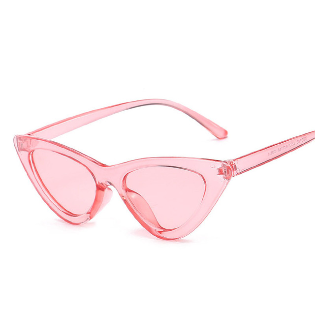 ceb7b0cdec61 Hindfield Summer Shades Triangle Cat Eye Sunglasses Brand Designer Sunglass  for Women Vintage Sun Glasses