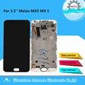 Дисплей AMOLED для Meizu MX5, черный/белый