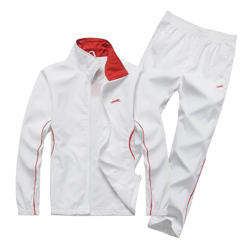 ФОТО 2017 new Men clothing outside long sleeve tracksuits Mens Sportswear Suit Men Suit of white&Sweatshirt Running Sets Size 4XL