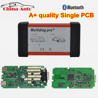 A+ quality green single PCB Multidiag pro with bluetooth 2016.00 version for cars trucks OBD2 scanner diagnostic tool