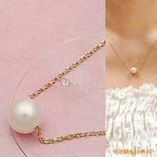 New Fashion Simple Imitation Pearl Temperament Short Necklace Modern Pearl Necklace Wholesale Wild Woman(China)
