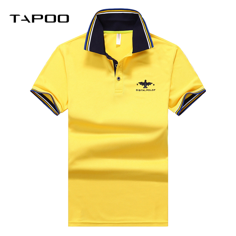 2019 Brand Men's Casual POLO Shirts Soft Cotton Solid Embroidery Stand Collar Breathable Business Male Short Sleeve Summer