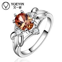 YUEYIN Anel 925 Sterling Silver Rings For Women Ring Wedding Anillos Fine Jewelry Bijoux Femme Rings Wedding Ring