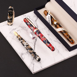 New Launched Moonman M300 Acrylic Fountain Pen Fashion Gift Fine Nib Student School office ink pens stationery supplies