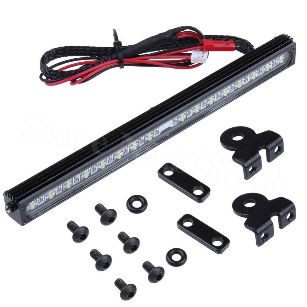 32 led Light Bar lámpara de techo para 1/10 RC Crawler Traxxas Trx-4 Trx4 SCX10 90027 SCX10 II 90046 90047 RC4WD D90 Accesorios