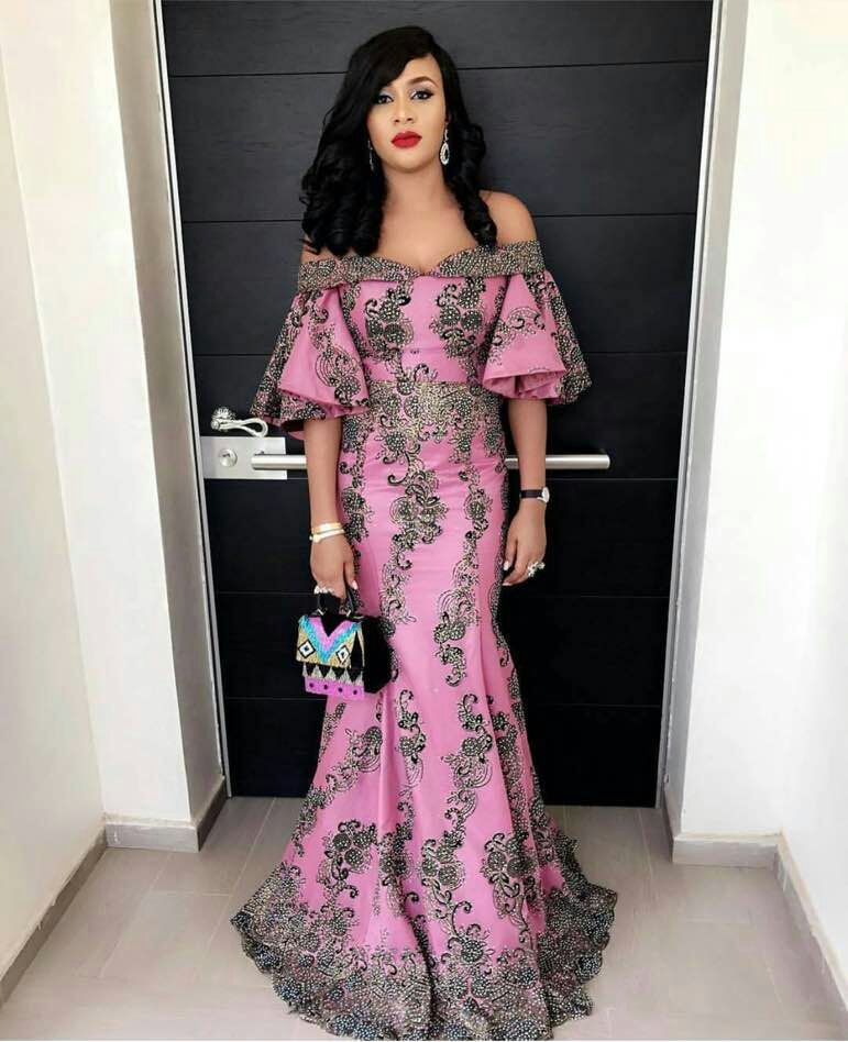 Hot Sale African Lace Fabric With Stones 2019 Fashion French Lace Fabrics Nigerian Fabric Bridal High