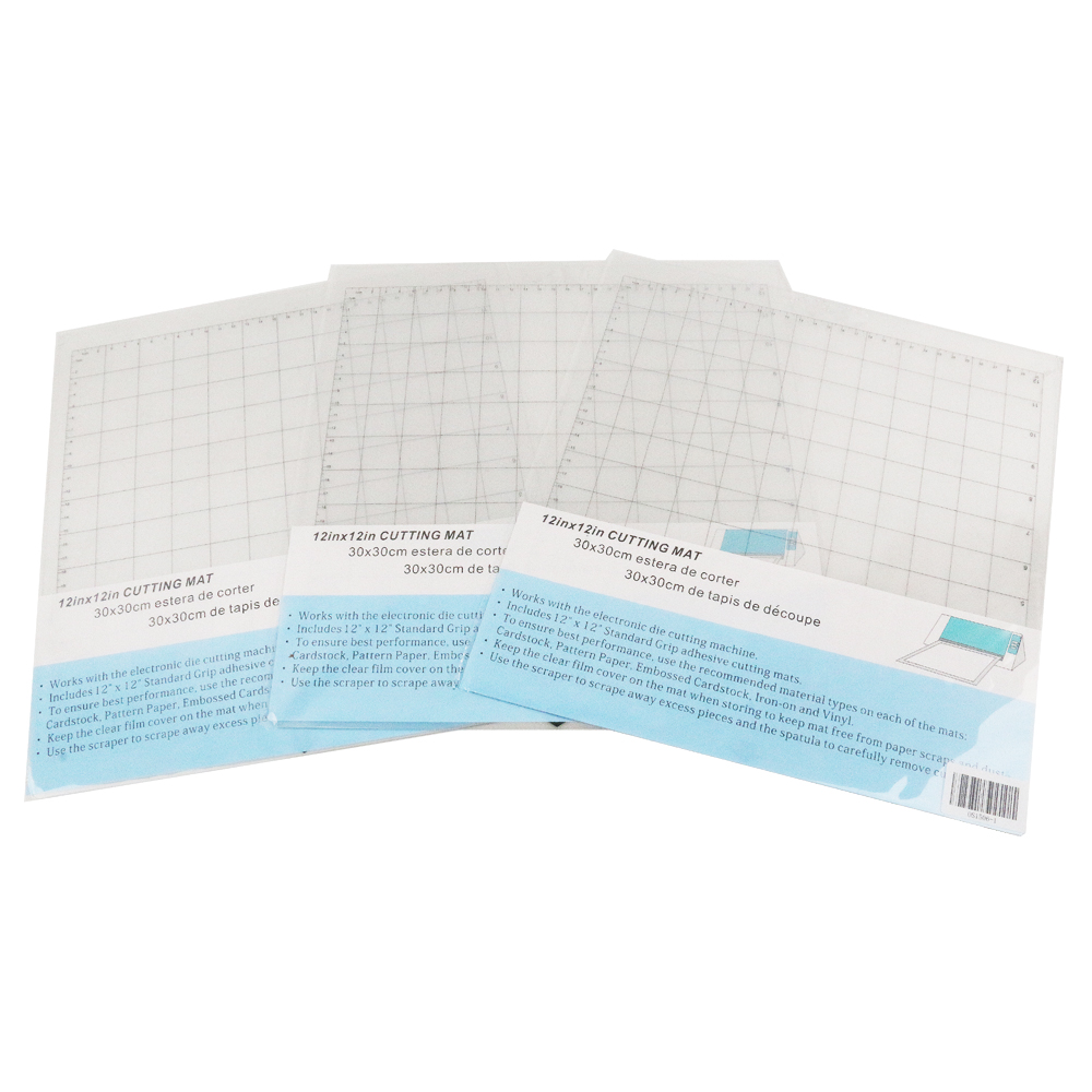 Top SaleCutting-Mat Adhesive Silhouette Cameo Standard-Grip 12x12inch Gridded Sticky for 3/2/1/..