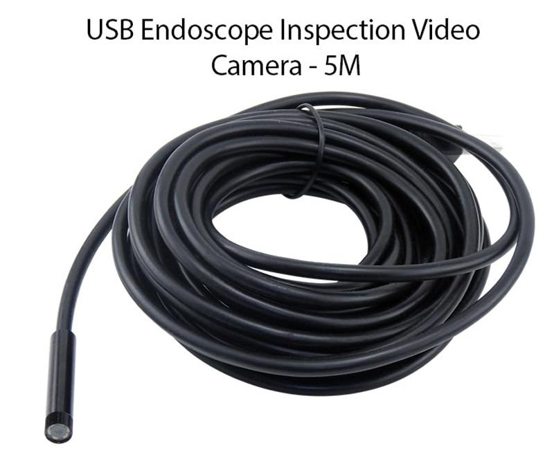 Андаскоп USB эндаскоп 2M 5M 10M 15M Snake Tube Mini - Бяспека і абарона - Фота 3
