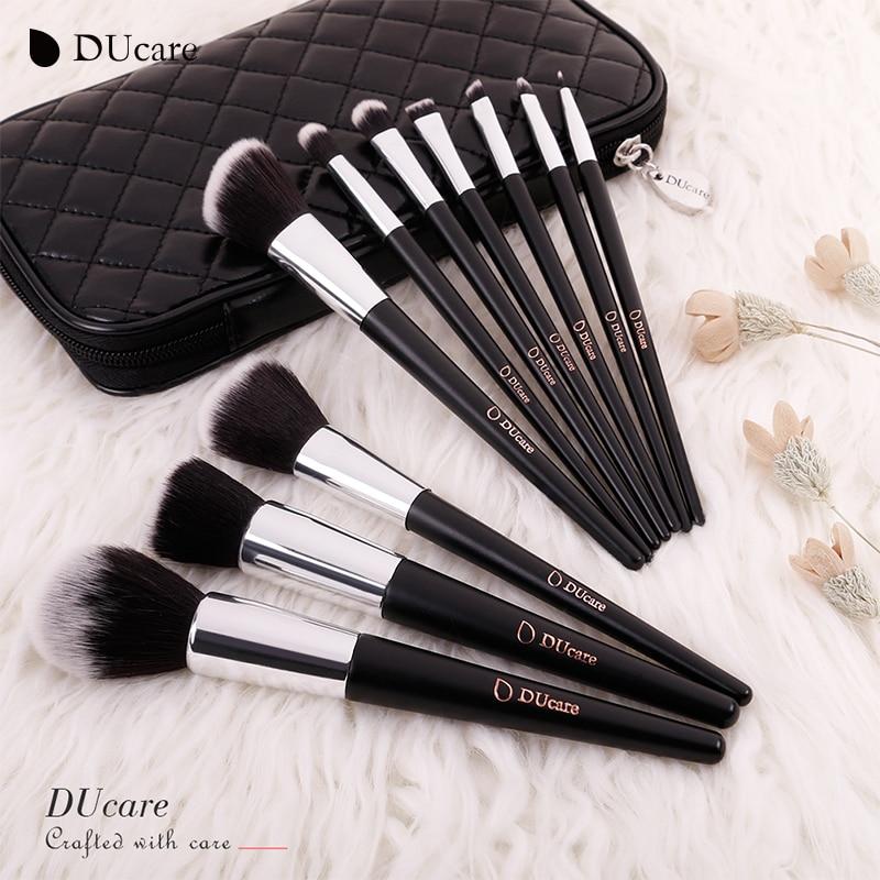 DUcare қылқалам 10pcs кәсіби бренд макияж - Макияж - фото 6
