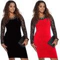 Summer Club Big Size Sexy Plus Size Women Clothes Plus Size Dress 4XL 3XL2XL Dresses Big Woman Clothes Red Black Blue