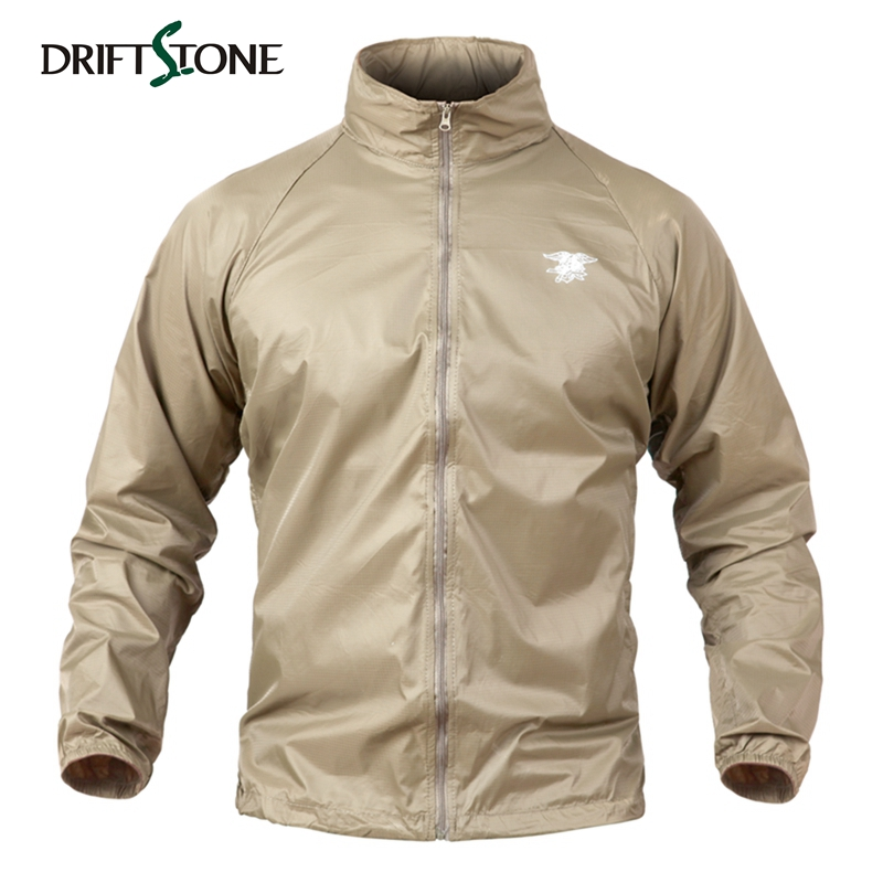 DRIFTSTONE Lightweight Tactical Jackets Men Summer Waterproof Thin Military Army Camouflage Jacket Sunproof Skin Jackets DF-J6