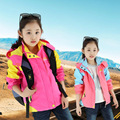 Girls Outdoor Jacket Children Clothing Sportswear Waterproof Coat Trench Sport Coats Outerwear 4-13 Years Kids Clothes Jacket