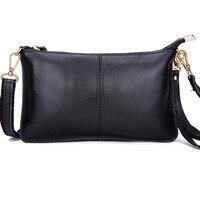 2017 New Special Offer Genuine Leather Leisure Ms Cowhide Shoulder Bags Messenger Bag Handbag Mobile Phone
