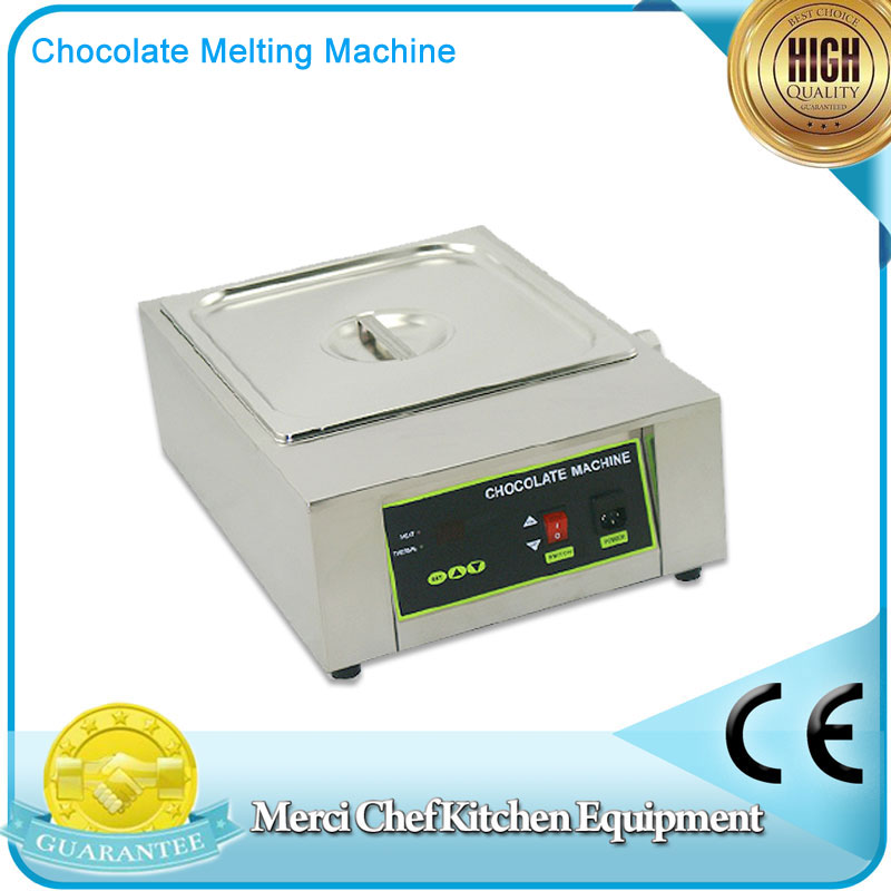 Digital Chocolate Melting Machine Stainless Steel Chocolate Machine With 1Pans Household and Commercial Machine fast shipping food machine 6 layers chocolate fountains commercial chocolate waterfall machine with full stainless steel