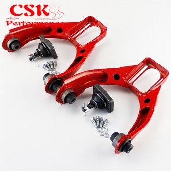 Para 96-00 Honda Civic ajustable bola frontal Control superior brazo Camber Kit azul/rojo