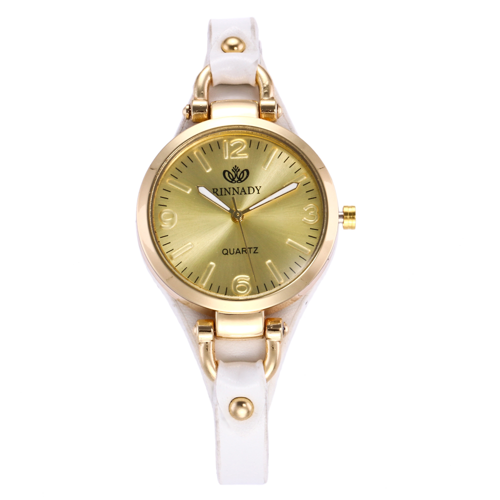 New 8 Women Watch Exquisite Quartz Ladies Watches Montre Femme Waterproof Leather Female Clock Reloj Mujer Horloges Vrouwen in Women 39 s Watches from Watches