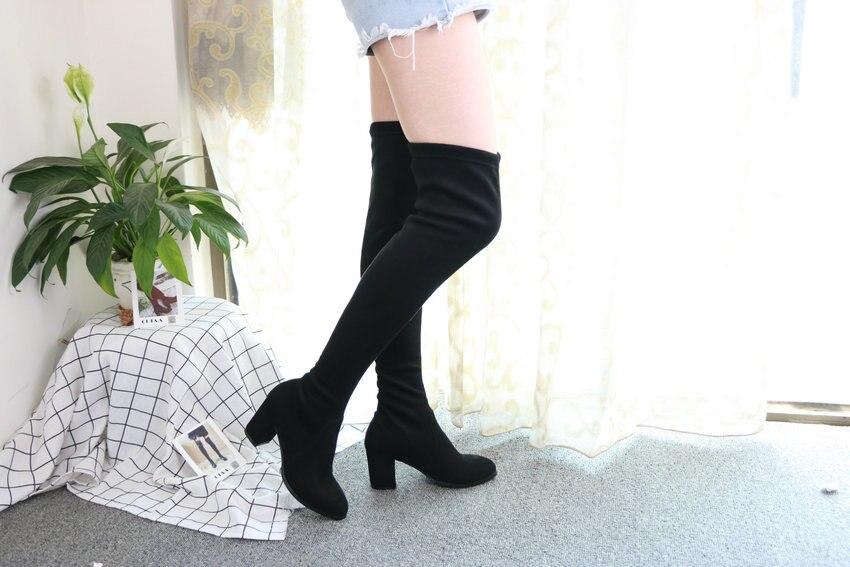 Women Over The Knee High Heel Winter Sexy Boots 60
