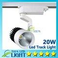 Luzes Led atacado 20 W COB Led faixa Spot Light lâmpada de parede acompanhamento Led AC 85 - 265 V iluminação Soptlight Epacket frete grátis