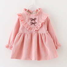 Baby Girl Spring 2009 girls baby cotton long sleeve  dress princess