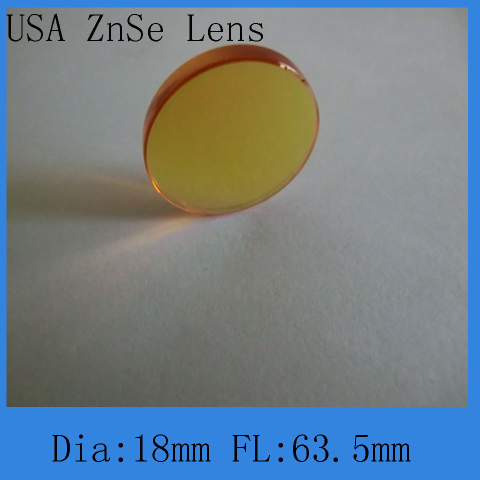 Top Quality Co2 Laser Focus Lens 18-63.5mm Diameter And Focal  For Co2 Laser Engraving And Cutting Machine