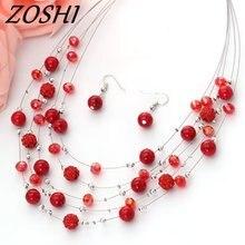 Винтажный ювелирный набор ZOSHI
